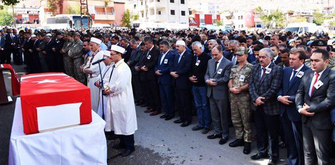 Şehit Uzman Çavuş Mesut Polat Elbistan'da Defnedildi