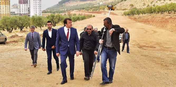 """Başkan Erkoç: """"Kuzey Çevre Yolu Yükü Hafifletecek"""""""