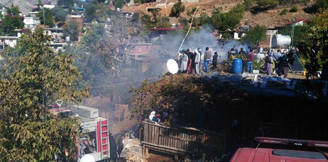 Avşarlı Mahallesi'nde Yangın Korkuttu