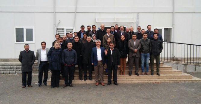 Dulkadiroğlu MEM de görevli Aday Öğretmenler Konteyner Kent'te