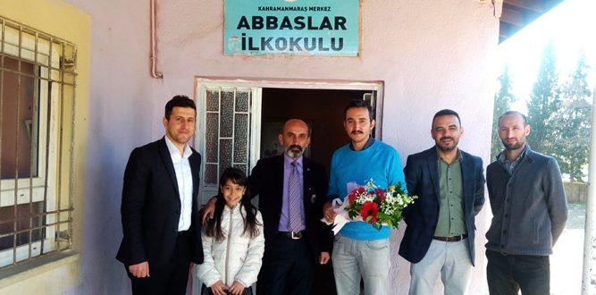 Abbaslar İlkokulu Ve Şehid Öğretmen Hanifi Çakallıoğlunun Makamına Ziyaret