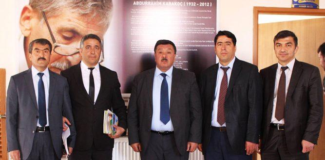 Başkan Çeleğen' Abdurrahim Karakoç İlkokulunuZiyaret etti.
