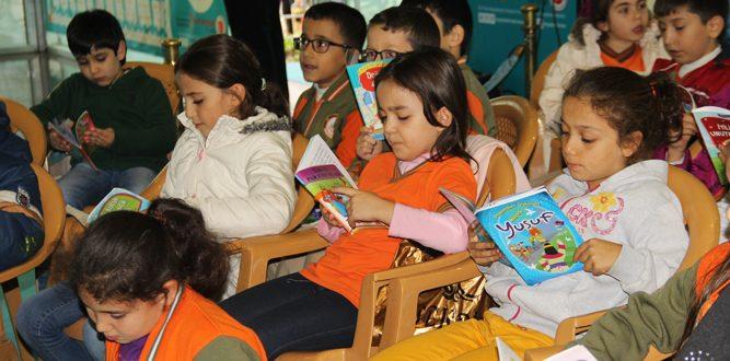 Ayşe Gümüşer İlkokulu Kitap Okuma Etkinliği Yaptı