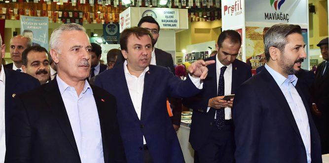 Genel Başkan Yardımcısı Ataş'tan Fuar Ziyareti
