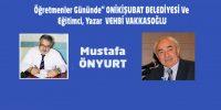 """Öğretmenler Gününde"""" ONİKİŞUBAT BELEDİYESİ"""