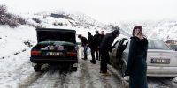 Çakıroğlu'nda Kar Eğitime Engel Olamıyor