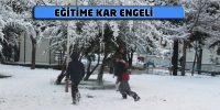 10 Ocak'ta kar tatili olan ilçe