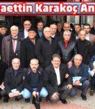 """""""Alkış"""" Yazarları Bahaettin Karakoç'u Andı"""