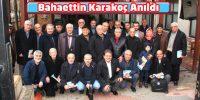 Kıraathanede Toplanan Alkış Yazarları Bahaettin Karakoç'u Andı