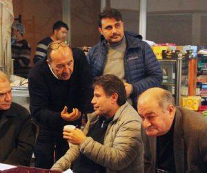 İbrahim Gülsu 10 Ocak Gazeteciler günü münasebeti ile basın mensupları ile buluştu