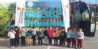 """GEZİCİ KÜTÜPHANE """"AKEDAŞ İLKOKULU'NDA"""