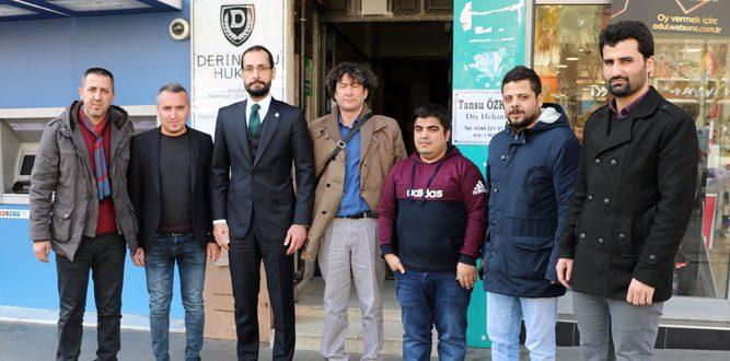 Milletvekili Cihat Sezal KMAGC'yi ziyaret etti