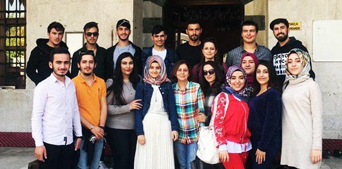 Üniversiteli Öğrenciler Kültür Gezisi Gerçekleştirdi
