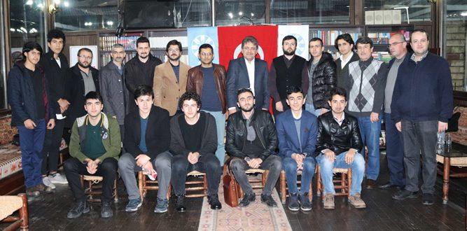 """TYB Kahramanmaraş Şubesinden """"Serdar Yakar'la Söyleşi"""""""