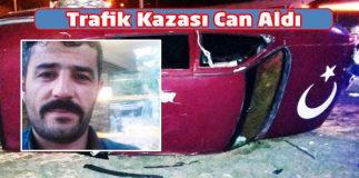 Trafik Kazası Can Aldı 1 Ölü 1 Yaralı