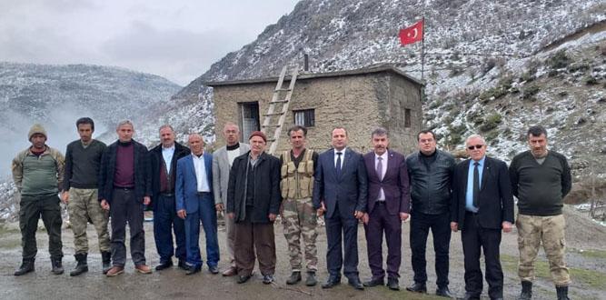 Sermet Yıldız,Siirt'te ziyaret etmedik yer bırakmadı