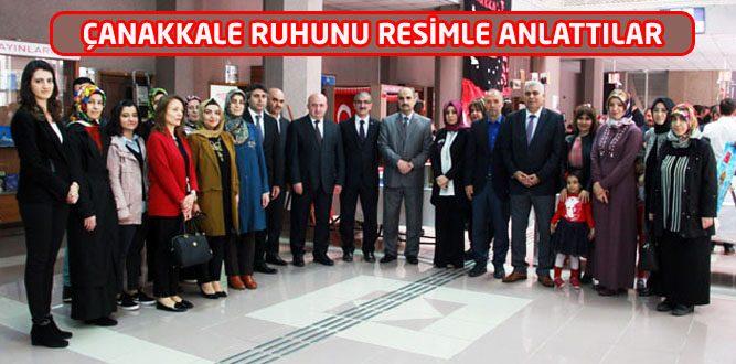 "Senem Ayşe Anaokulundan ""Çanakkale"" Sergisi"