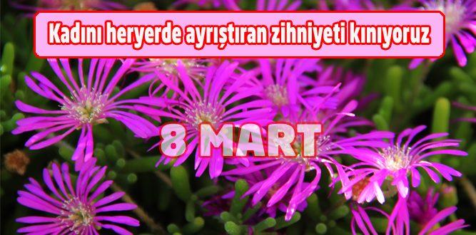 Füsun Zabun'dan 8 Mart Dünya Emekçi Kadınlar Günü