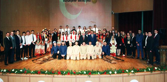 Kahramanmaraş'ta 18 Mart Şehitleri Anma Günü