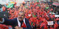 """Biz """"Türküm Doğruyum Çalışkanım""""diyor PKK' yı Lanetliyoruz"""