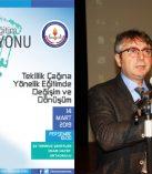 """Millî Eğitim Müdürlüğünden"""" 2023 Eğitim Vizyonu ve İnsan"""" Konulu Konferans"""