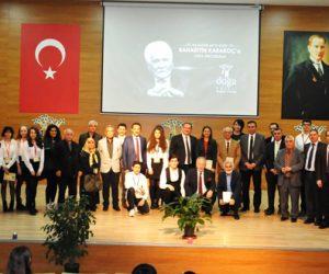 Bahaettin Karakoç ,Özel Doğa Kolejinin hazırladığı bir programla anıldı.