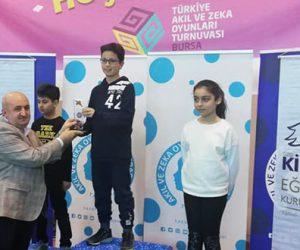 Kahramanmaraş'ta Akıl ve Zekâ Oyunları Turnuvası Sona Erdi