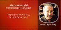 Bir Devrin Şairi Abdurrahim Karakoç