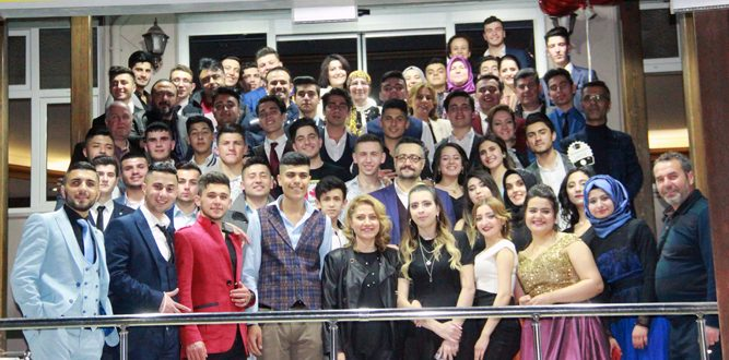 Akdeniz MTA Lisesinin Mezuniyet Töreni