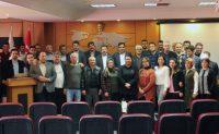 Abdullaziz AYDIN İl Milli Eğitim Müdürlüğü personellerini ziyaret etti.