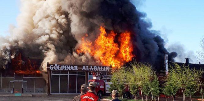 Büyük Yangında Zarar 3 Milyon