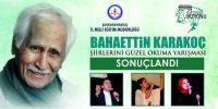 Kahramanmaraş'ta Bahaettin Karakoç'un Şiirlerini Güzel Okuma Yarışması Yapıldı