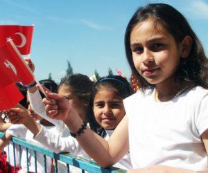 Dulkadiroğlu Namık Kemal İlkokulunda 23 Nisan Kutlaması