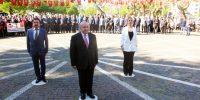 Kahramanmaraş'ta Çelenk Sunum Töreni