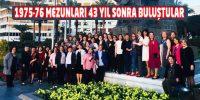 Kahramanmaraş Öğretmen Okulu mezunları tarih yazdı