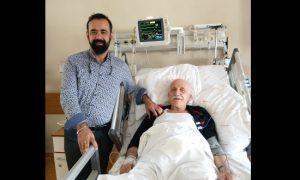 Akciğer Hastasını Acil kararıyla sağlığına kavuşturdu!