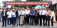 Pazarcık'ta Mesleki ve Teknik Eğitim Tanıtım Fuarı Yapıldı