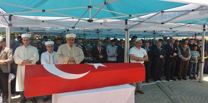 Kahramanmaraşlı Şehit Mehmet Taşhan'a Son Görevini Yaptı
