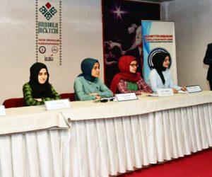 """Kahramanmaraş'ta Anadolu Mektebi """"Necip Fazıl Kısakürek"""" paneli yapıldı"""