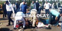 Elbistanlı işçileri taşıyan minibüs devrildi: Çok sayıda ölü ve yaralı var