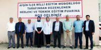 Afşin İlçesinde Mesleki ve Teknik Eğitim Fuarı Açıldı