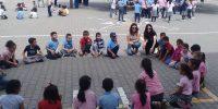 """Kavlaklı İlkokulu Öğrencileri """"Yağ satarım, Bal Satarım"""" oyunu oynadı"""