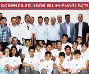 Hacı Osman Arıkan İHO' NUN 4006 Bilim Fuarı İlgi gördü
