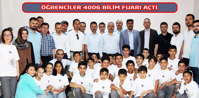 Hacı Osman Arıkan İHO' 4006 Bilim Fuarı Açtı