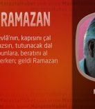 GELDİ RAMAZAN