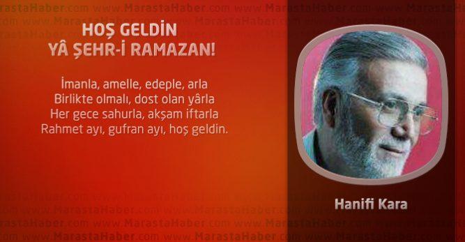 HOŞ GELDİN YÂ ŞEHR-İ RAMAZAN!
