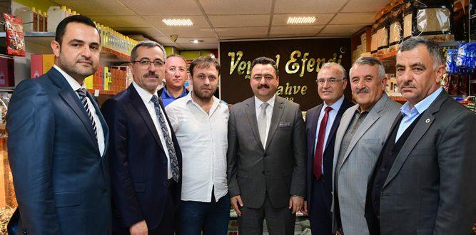 Büyükşehir Belediye Başkanı Güngör Elbistan'da