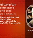 Hasan'a Mektuplar'dan Suları Islatamadım'a bir devrin şairi Abdurrahim Karakoç-1