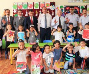 Dulkadiroğlu Mehmet Akif Ersoy İlkokulunda karne töreni düzenlendi.