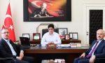 Başkan Güngör'den, Andırın'da Kaymakamlık Ve Belediyeye Ziyaret